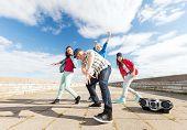 picture of break-dance  - sport - JPG