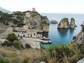 stock photo of saracen  - sightseeing in Scopello - JPG