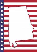 foto of alabama  - Alabama Cover Page Vector Design - JPG