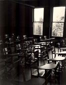 picture of mater  - empty college classroom in the 1970 - JPG
