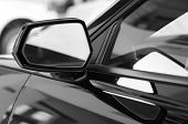 foto of rear-end  - Car side mirror - JPG