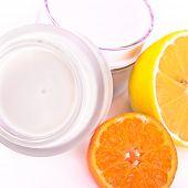 revitalizing cream with vitamin C poster