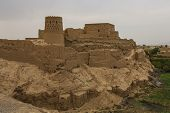 Narin Qaleh Or Narin Castle Is A Mud-brick Fort Or Castle In The Town Of Meybod, Iran. poster