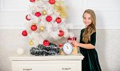 Last Preparations. Child Celebrate Christmas At Home. Favorite Day Of The Year. Christmas Celebratio poster
