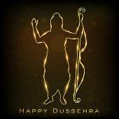 stock photo of dussehra  - Dussehra festival background - JPG