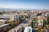 image of yugoslavia  - Panoramic view of Novi Sad - JPG
