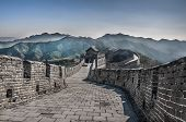 image of qin dynasty  - Great Wall at Mutianyu near Beijing - JPG