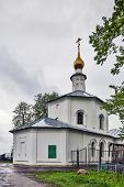 stock photo of uglich  - Church of the Prophet Elijah in Uglich Russia - JPG