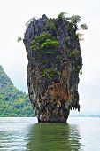 stock photo of james bond island  - James Bond island in thailand - JPG