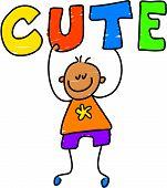 Cute Kid poster