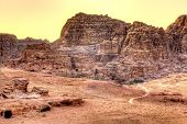 stock photo of empty tomb  - Petra - JPG
