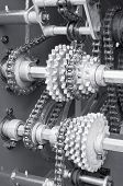 image of time machine  - large gear - JPG