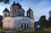 pic of radha  - Shyamroy Temple Bishnupur India  - JPG