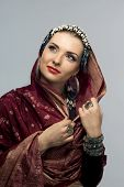 picture of fascinating  - Very attractive oriental woman - JPG