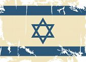 picture of israeli flag  - Israeli grunge flag - JPG