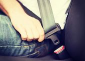 stock photo of car ride  - transportation and vehicle concept  - JPG