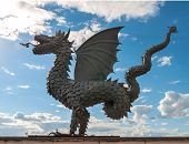 picture of tatar  - Statue of dragon  - JPG