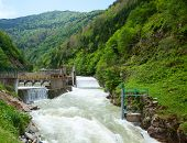 image of hydro  - Small hydro power plant in Turkey - JPG