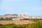 foto of gozo  - View towards Victoria Rabat capital city of Gozo island Malta - JPG