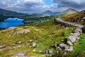 pic of nationalism  - View over valley in Killarney National Park Republic of Ireland - JPG