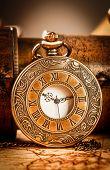 picture of vintage jewelry  - Vintage Antique pocket watch - JPG