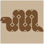 stock photo of anaconda  - Snake icon  - JPG