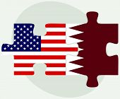 picture of qatar  - Vector Image  - JPG