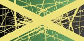 picture of jamaican flag  - Illustration of a Worn Color Jamaica Flag - JPG