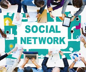 picture of social system  - Social Network Internet Online Society Connecting Social Media Concept - JPG
