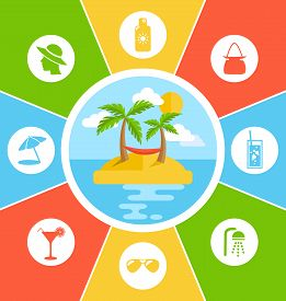 stock photo of conduction  - Rules of Conduct in Summer Vacation - JPG