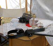 stock photo of rebs  - A Civil War soldier - JPG