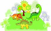 picture of paleontologist  - The cartoon dinosaur collection - JPG