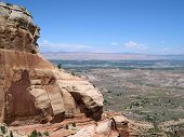 View From Colorado National Monument poster