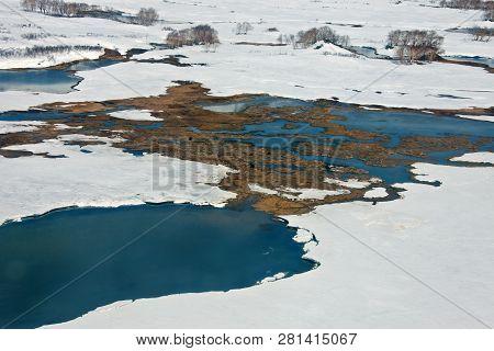 Thermal Springs In The Caldera