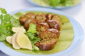 Thai spicy sausage poster