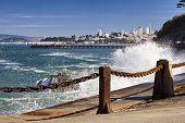 San Francisco Panorama From San Francisco Bay poster