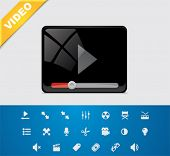 Universal glyphs 1. Video set