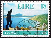 Postage stamp Ireland 1981 Hiking