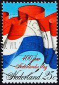 Postage stamp Netherlands 1972 Dutch Flag