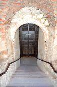 stock photo of carmelite  - Stone staircase - JPG
