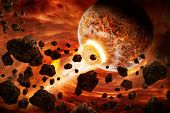 foto of meteorite  - Planet Earth Apocalypse - JPG