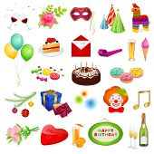 image of wedding feast  - Big colorful set - JPG