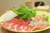 Постер, плакат: Korean Cuisine Freshness Japanese Beef For Barbecue