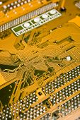 Gold Circuit Board