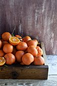 Citrus Fruit: Tangerines. Clementines.