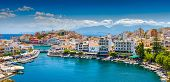 stock photo of greek-island  - Agios Nikolaos Crete Greece - JPG