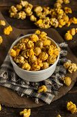 picture of mixture  - Chicago Style Caramel and Cheese Popcorn Mixture - JPG