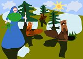 pic of groundhog day  - Midwinter feasts with Saint Brigid and groundhog - JPG
