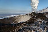 picture of slag  - Beautiful nature of Kamchatka - JPG