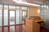 stock photo of reception-area  - Modern office interior  - JPG